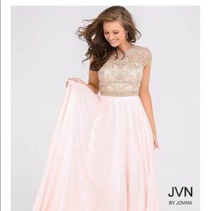 Jovani Dresses - Jovani JVN47897 Soft Pink size 10
